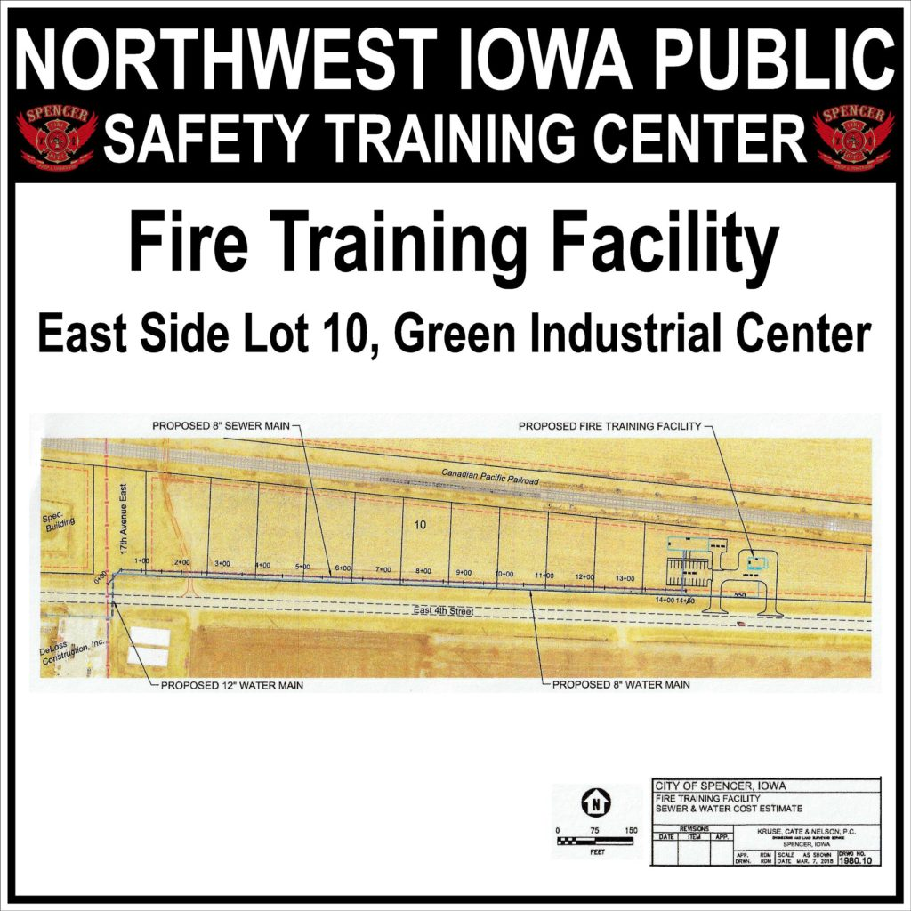 Fire Training Facility Sign (30x30) Proof